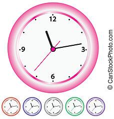 clocks - vector set of clocks