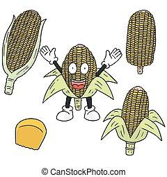 vector set of corn