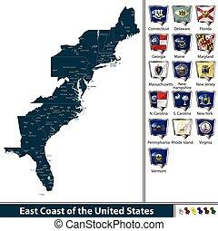 East Coast of the United States