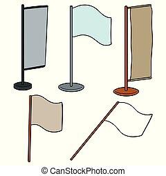 vector set of flag