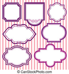 Vector set of frames