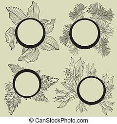 Vector set of frames