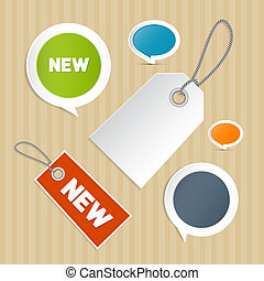 Vector Set of Labels, Tags