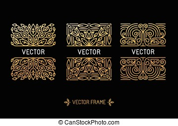 Vector set of linear frames and flo