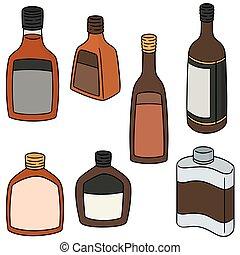 vector set of liqueur