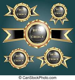 vector set of logos best choice
