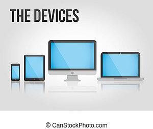 Vector Set of Modern Digital Device