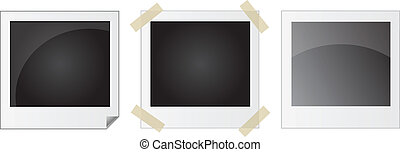 set of photo frames