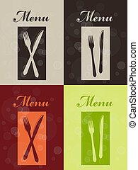 Vector set of restaurant menu - EPS 10