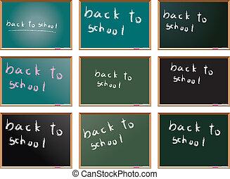 school blackboards