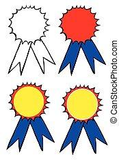 Set of Sketch Badges
