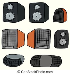vector set of speaker