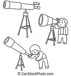 vector set of telescope