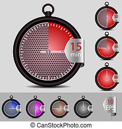vector set of timer for your design