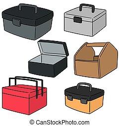 vector set of toolbox