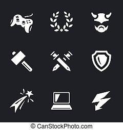 Vector Set of Video Games.