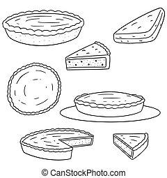 vector, set, pastei