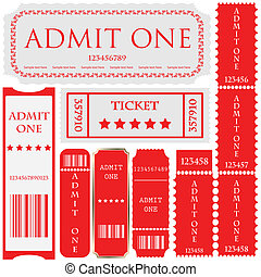 vector set: tickets in different st
