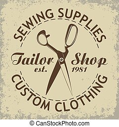 Vector Sewing emlem