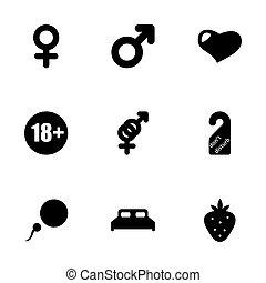 Vector sex icon set