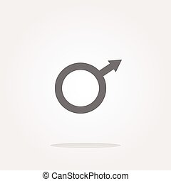 vector sex web glossy icon, web button isolated on white