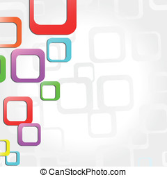 Vector shapes background