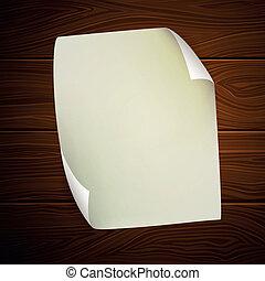 Vector Sheet of Paper