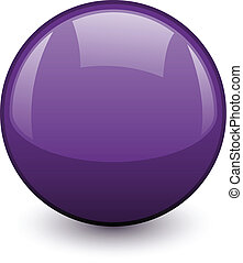 vector shiny sphere