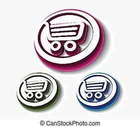 shopping cart set,
