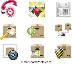 Vector shopping icon. P.5