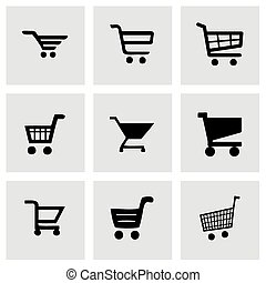Vector shopping icon set