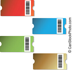 Vector shopping tags