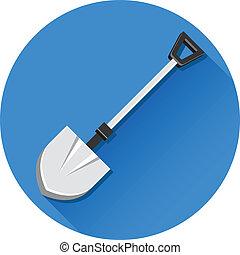 Vector Shovel Icon