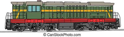 vector shunting locomotive