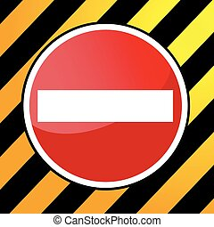 Sign - No Entry