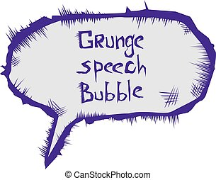 vector sketch speech bubble