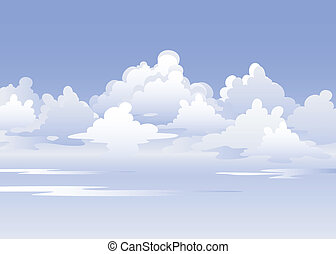 Sky - Vector Sky. EPS 8, AI