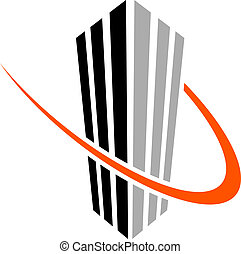 vector skyscraper symbol