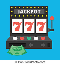Vector Slot Machine Icon
