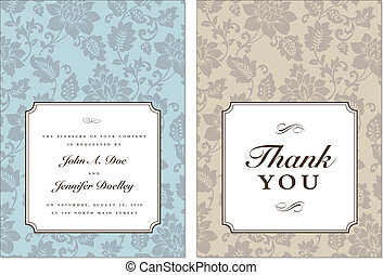 Vector Small Frame and Background Set