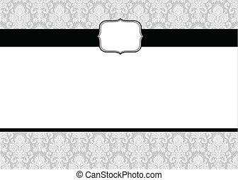 Vector Small Frame and Pattern