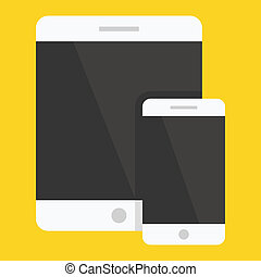 Vector Smartphone and Tablet Icon
