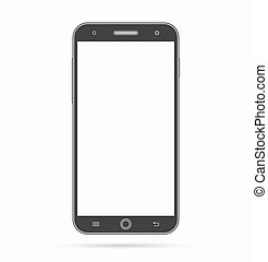 Vector smartphone icon. Modern abstract smart phone, mobile...