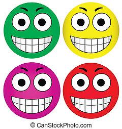 Vector smiley smiley
