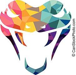 vector snake logo template danger snake icon viper black ...