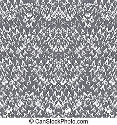 Vector snake skin pattern made with brushstrokes