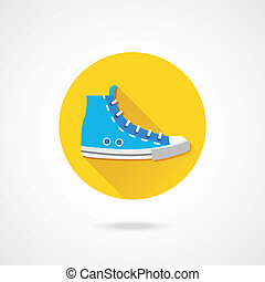Vector Sneaker Icon