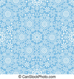 Vector, sneeuwvlok, achtergrond