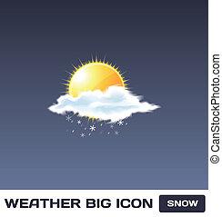 Vector Snow Icon