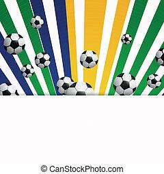 Vector Soccer Background